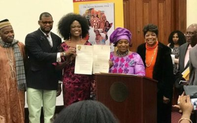 Queen Blessing co-host African Diaspora Day in Georgia