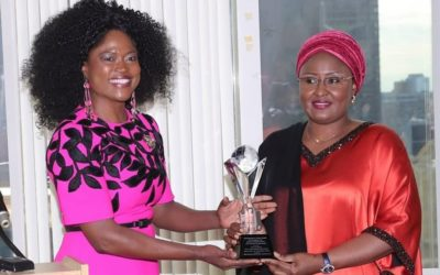 Dr Queen Blessing Itua Honors the Firstlady of Nigeria with 3 awards