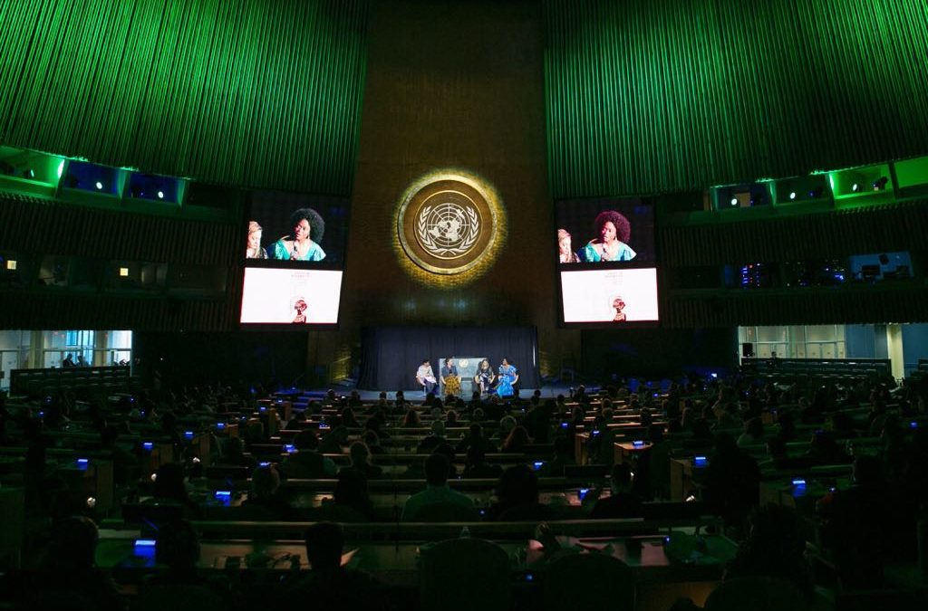 """Launching of """"We Are The Blessings of Africa"""" during the UN Unity in Diversity Event at the United Nations Headquarters in New York."""