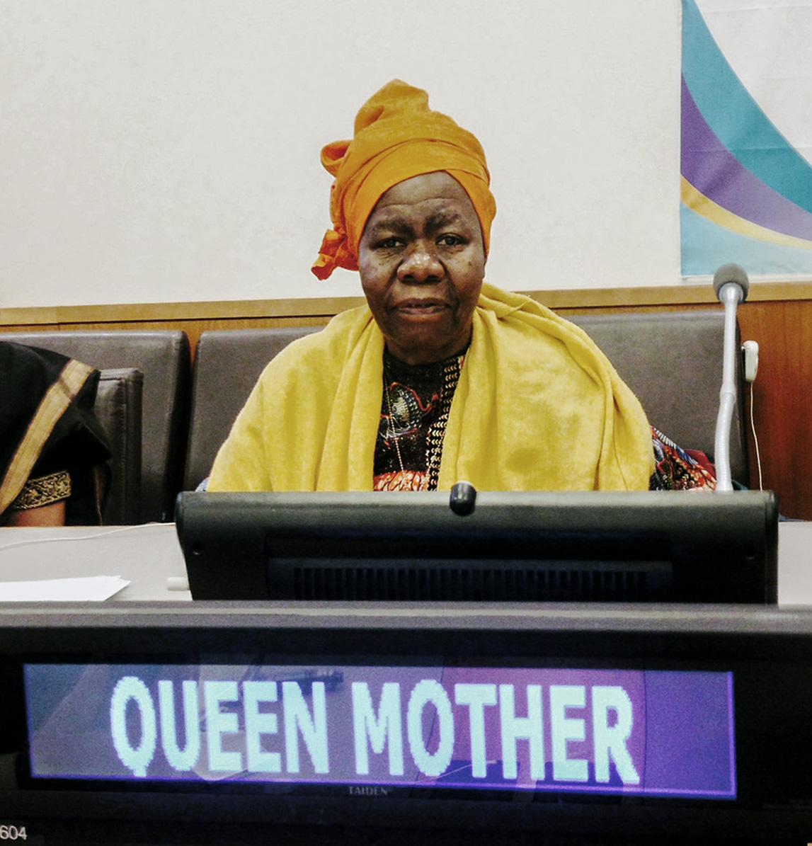 Queen Mother Dr. Delois Blakel