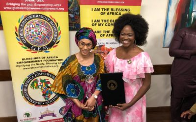 GEM USA Honors Gambia Firstlady