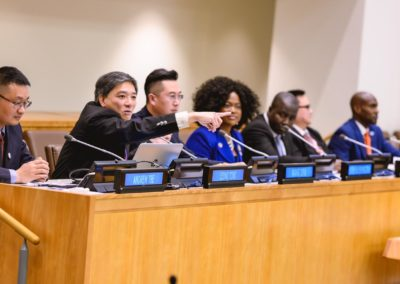 """ARTIFICIAL INTELLIGENCE (AI) – BLOCKCHAIN"""" GLOBAL SUMMIT AT THE UNITED NATIONS Theme: Combating Poverty and Climate Change with Artificial Intelligence (AI) – Blockchain"""