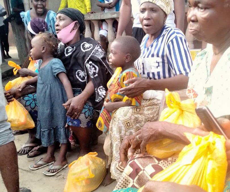 GEM-USA and BOA distribute palliative to Dongo community in Lagos, Nigeria